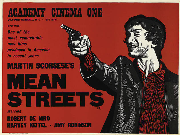 British quad poster for Mean Streets, directed by Martin Scorsese, USA, 1973