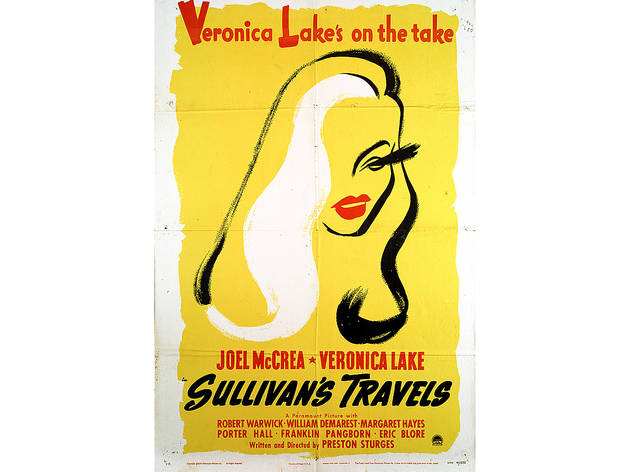 Maurice Kallis, One-sheet poster for Sullivan's Travels, directed by Preston Sturges, USA, 1941