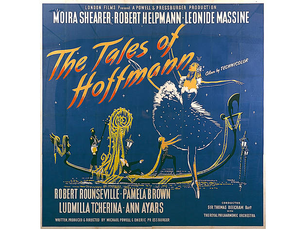Marc Stone, British six-sheet poster for The Tales of Hoffmann,  directed by Michael Powell and Emeric Pressburger, Great Britain, 1951