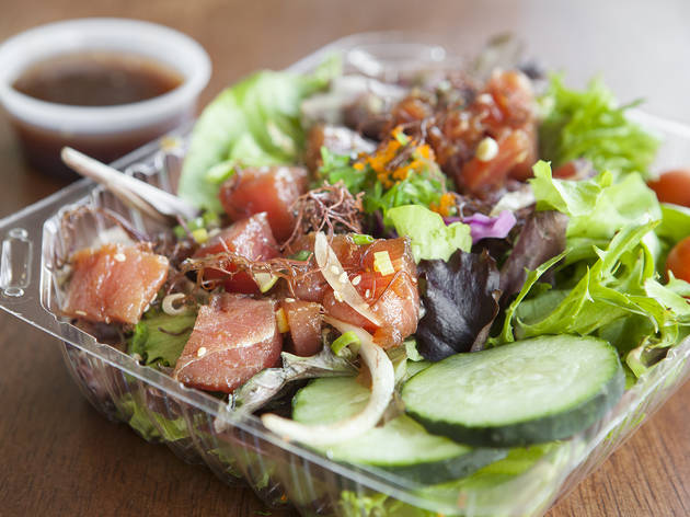 Poke salad bowl at Poke Etc.