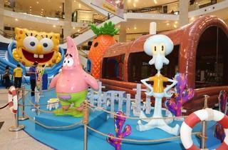 SpongeBob SquarePants Summer Holiday Splash at Pavilion