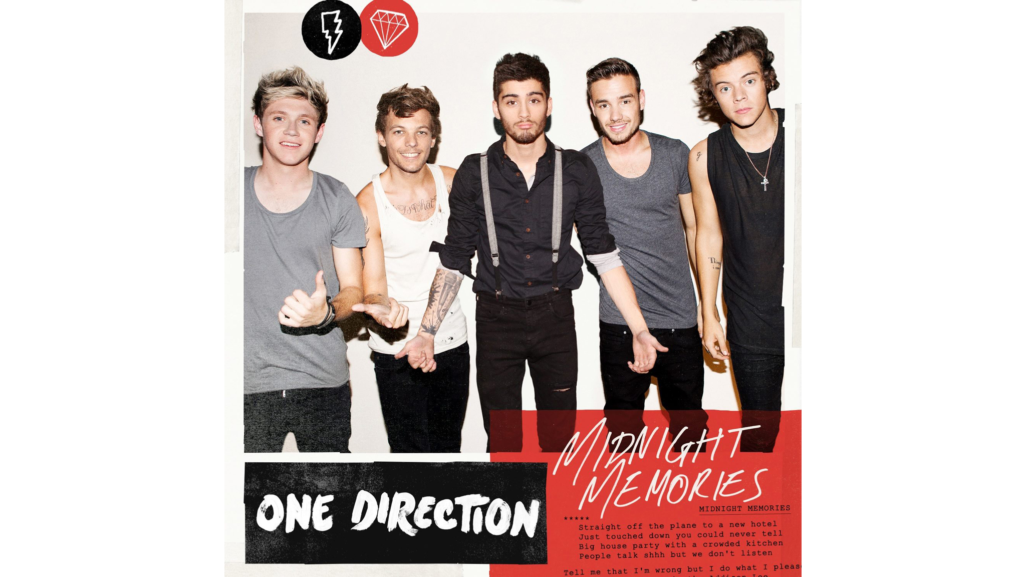 midnight memories, single cover, one direction