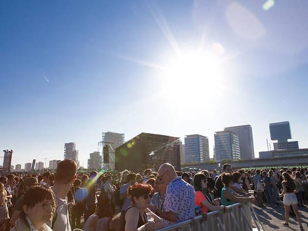 Disfrutar de los festivales musicales