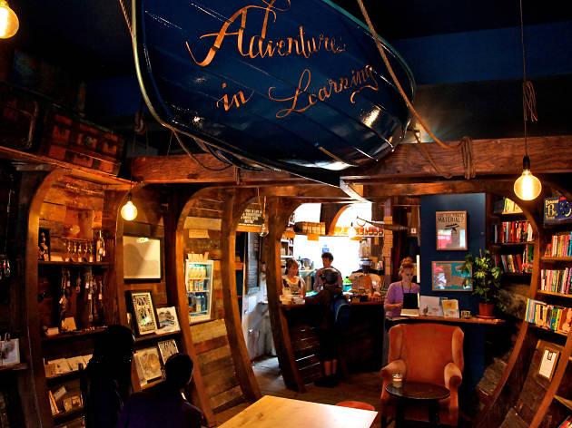 The Ship of Adventures, Hackney Pirates café, Dalston