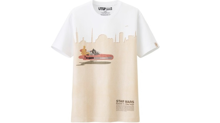 Uniqlo Star Wars T-shirts