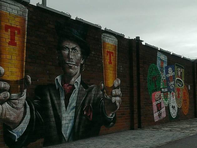 Glasgow Street Art - Wellpark Brewery