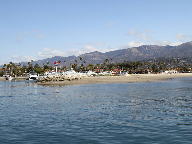 Views of the Californian coast