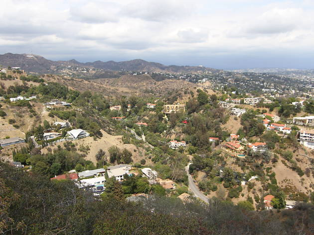 Views of the Runyon Canyon