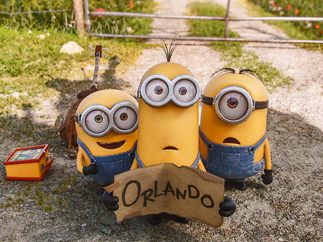 You can get a free Minions tattoo in Millennium Park this weekend
