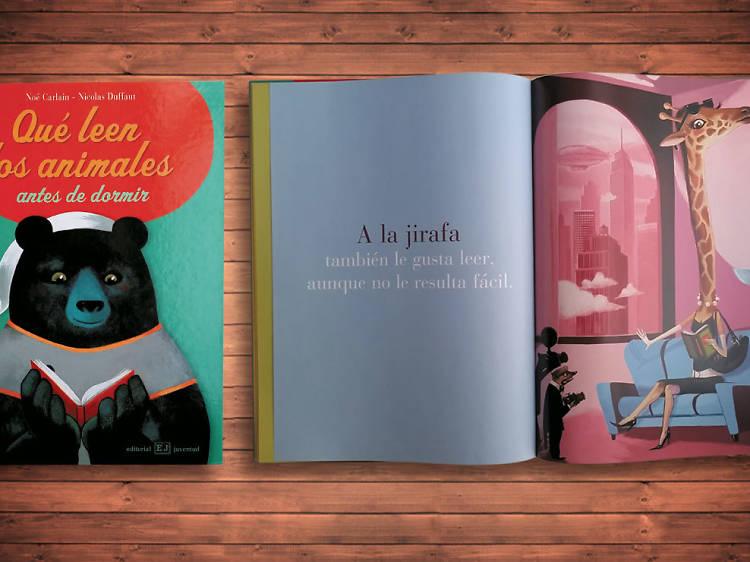 ¿Qué leen los animales antes de dormir?, de Noe Carlain y Nicolas Duffaut