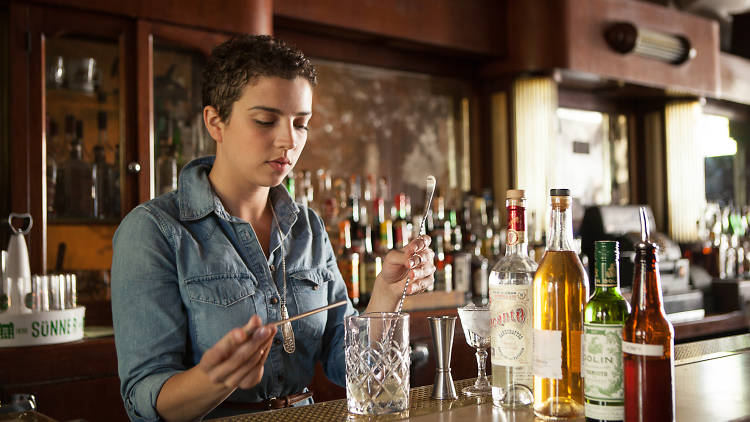 Jacyara de Oliveira is the bar manager at Sportsman's Club.
