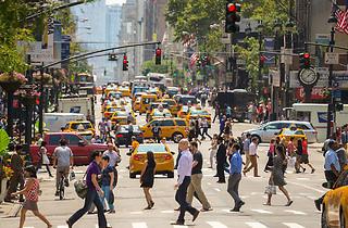 City Street Crosswalk