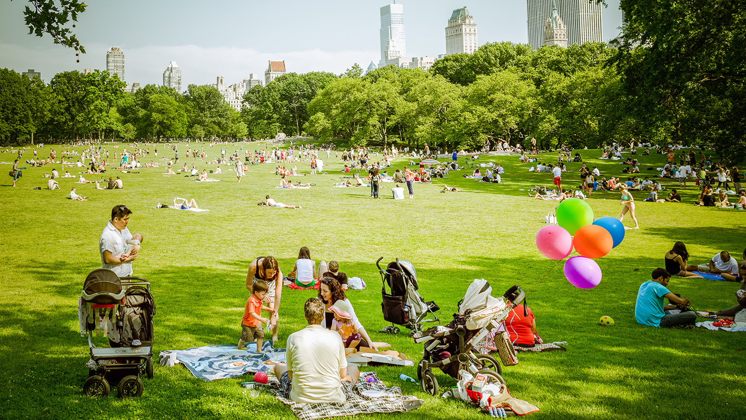 Check out our beautiful photos of NYC in the summer