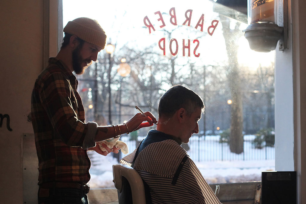 Barber shops in New York