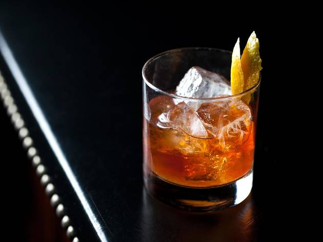 Old Forester Old Fashioned at Seven Grand