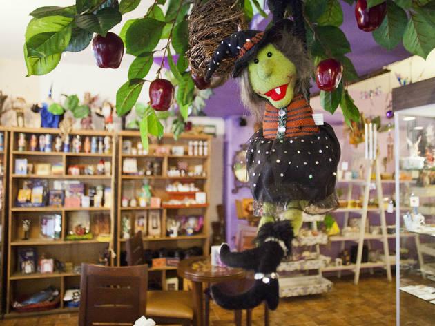 Salem Witch Store & Coffee (Foto: Alejandra Carbajal)