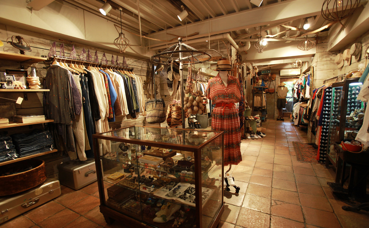 Vintage and consignment stores