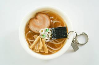 Food sample keyring | Time Out Tokyo