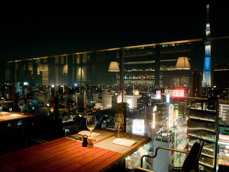 The best Tokyo bars with a view