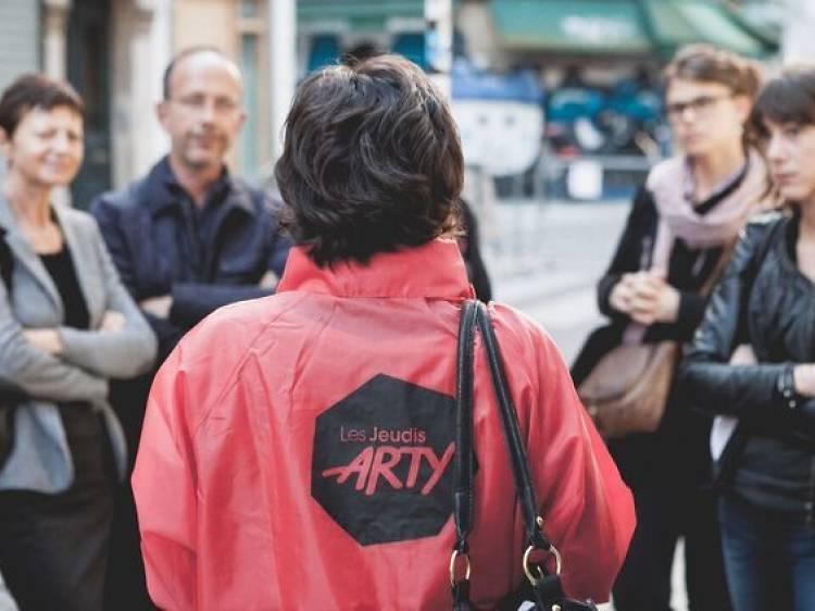 Gagnez votre visite guidée pour la 8e édition des Jeudis Arty !