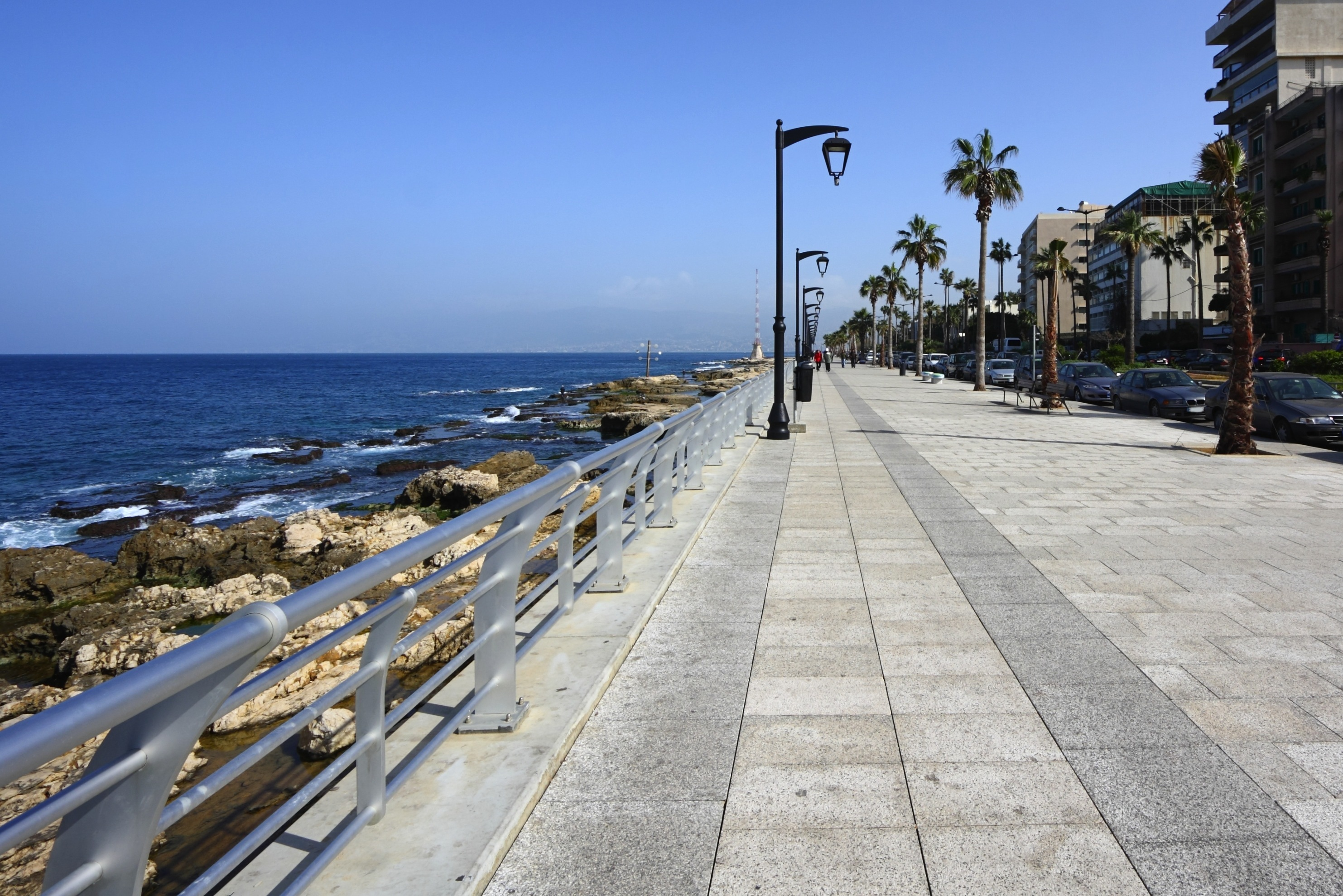 Corniche, Things to do, Beirut