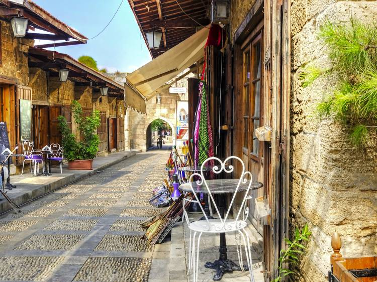 Run through the gamut of ancient civilisations at Byblos