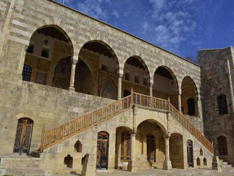 Breathe in the monastic calm at Beiteddine