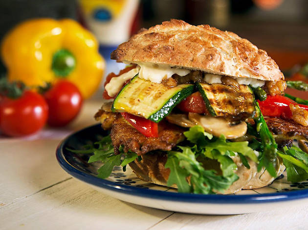 Veggie Potato Burger - II RUTA HELLMANS BURGUER 2015