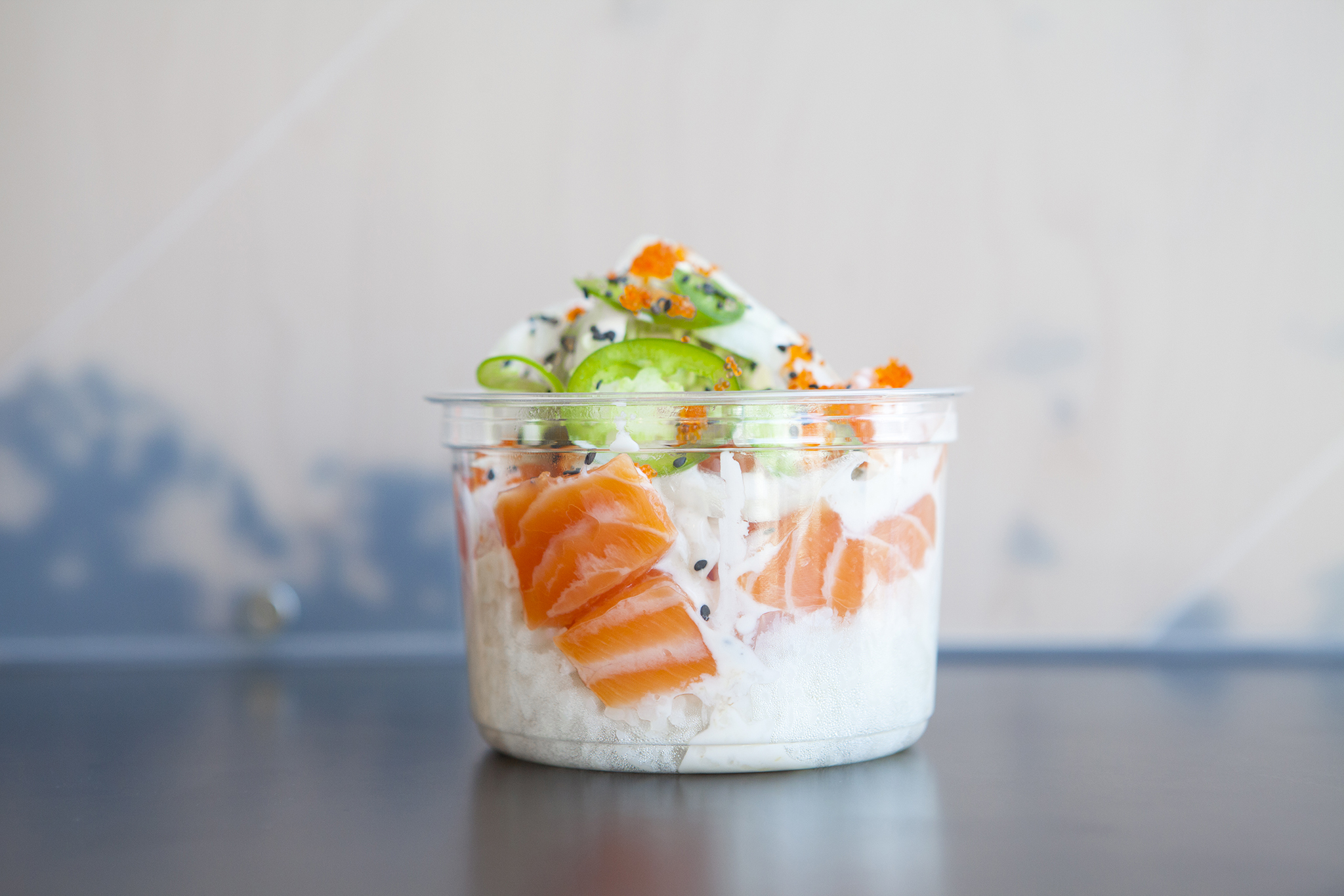 So Cali Bowl at Mainland Poke Shop