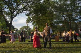 Midsommer Flight's 2014 production of Much Ado About Nothing