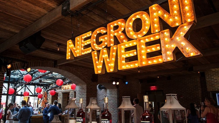 #NegroniWeek – Drink For Charity