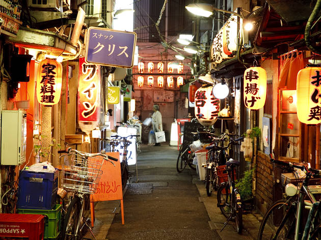 Down a drink with the locals: Yokocho
