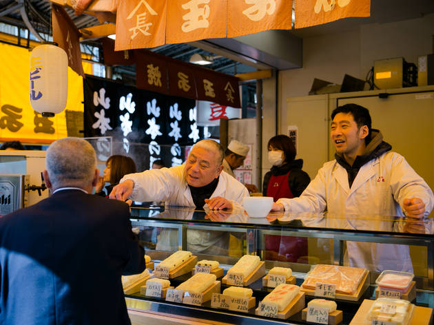 Tsukiji street snacks | Time Out Tokyo