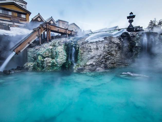 Japan hot spring getaways