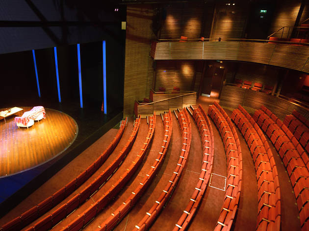 The Hampstead Theatre auditorium