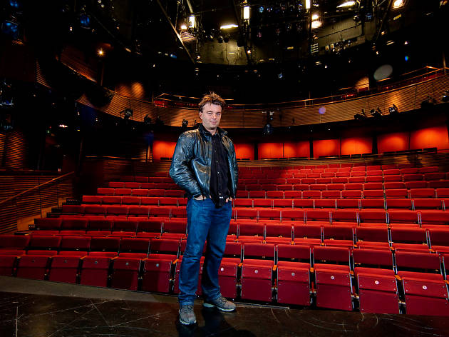 Artistic director Ed Hall in the Hampstead Theatre auditorium