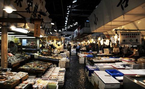 Tsukiji market shopping in tsukiji tokyo for Tsukiji fish market chicago