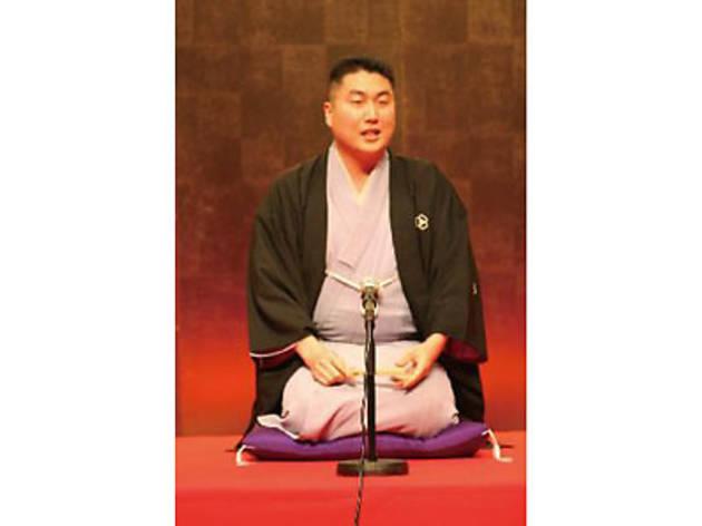 築地のお寿司と「築地本願寺寄席」