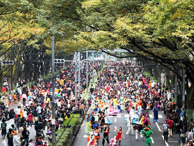 原宿表参道ハローハロウィーンパンプキンパレード 2010
