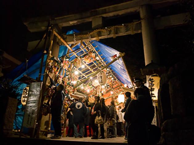 目黒大鳥神社の酉の市 ニの酉(2012)