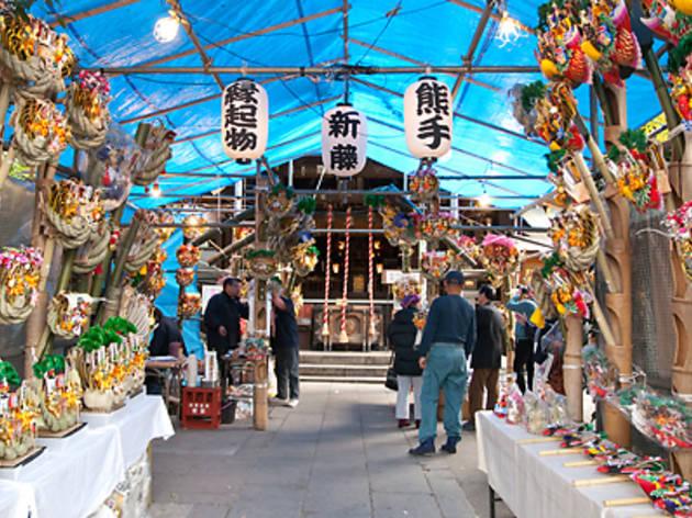 Tori no Ichi (Namiyoke Inari Jinja Shrine)