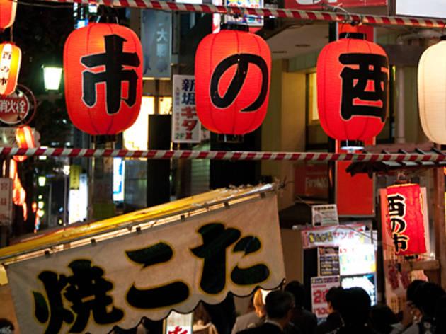 渋谷宮益御嶽神社の酉の市