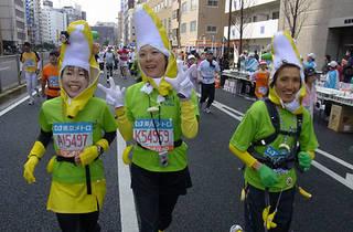 走った!撮った!東京マラソン2010