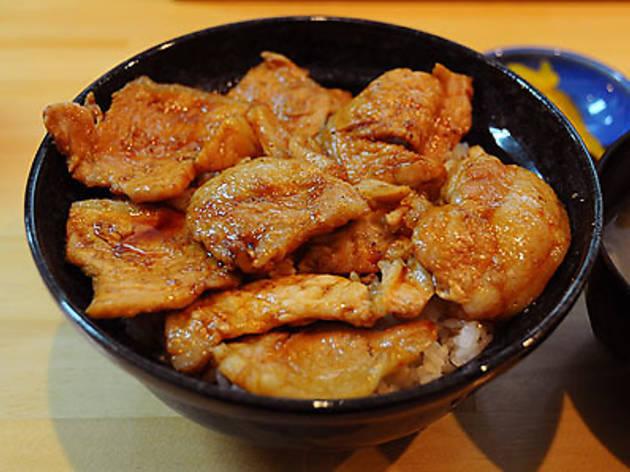 豚丼 白樺