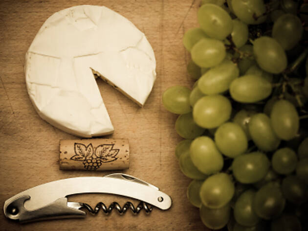 French party: Wine, cheese and chanson