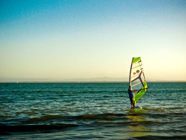 Windsurfing Kaya