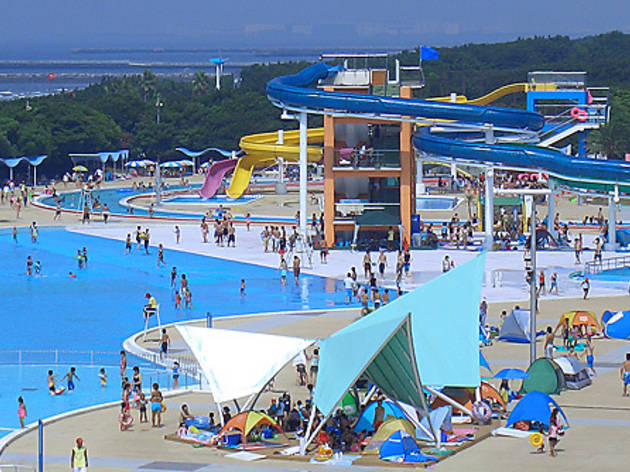 Inage Kaihin Park Pool