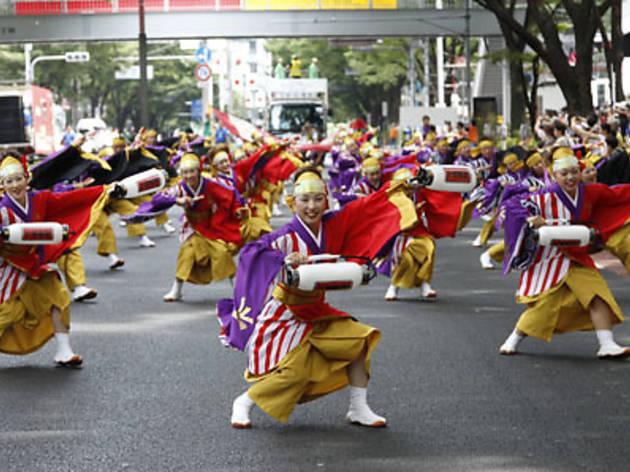 原宿表参道元氣祭 スーパーよさこい 2013
