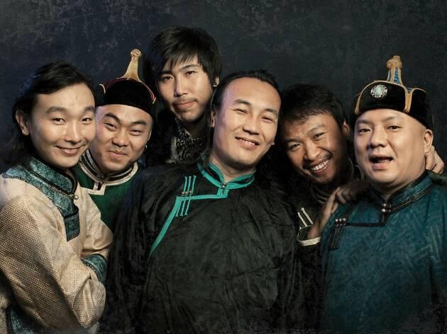 7人組モンゴル・ロック・バンド、HANGGAIが帰って来る
