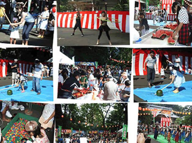 第31回サンロード月窓寺門前市・納涼盆踊り大会 2013